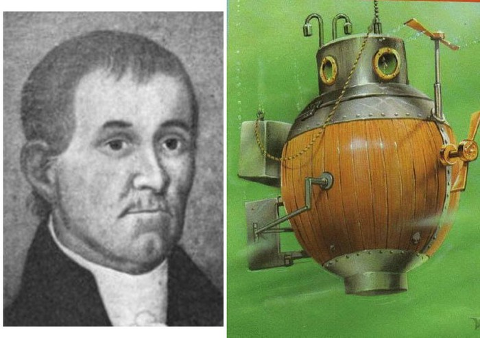 david bushnells invention of the military submarine and the reasoning behind it Numerous technological advancements and invention of inventor david robert shaped the his career in the military boasts an impressive record.
