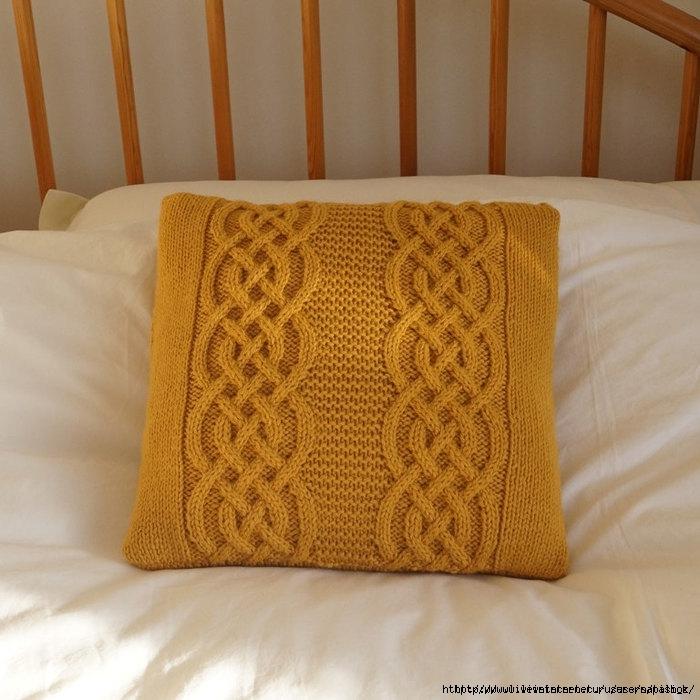 подушки спицами самое интересное в блогах