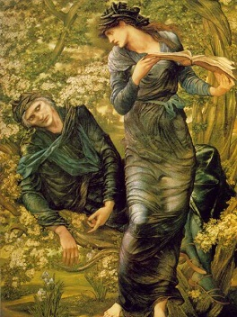 баньоль дель орне артуриана EdwardBurne-Jones (264x352, 58Kb)