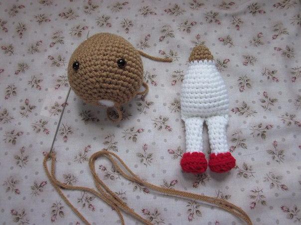 секреты вязания игрушек