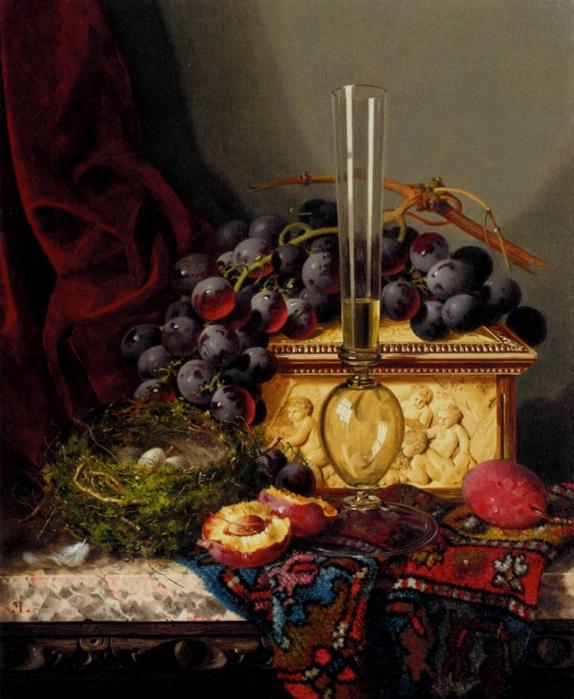 still_life_with_fruit,_birds_nest,_glass_vase_and_casket-large (574x700, 294Kb)