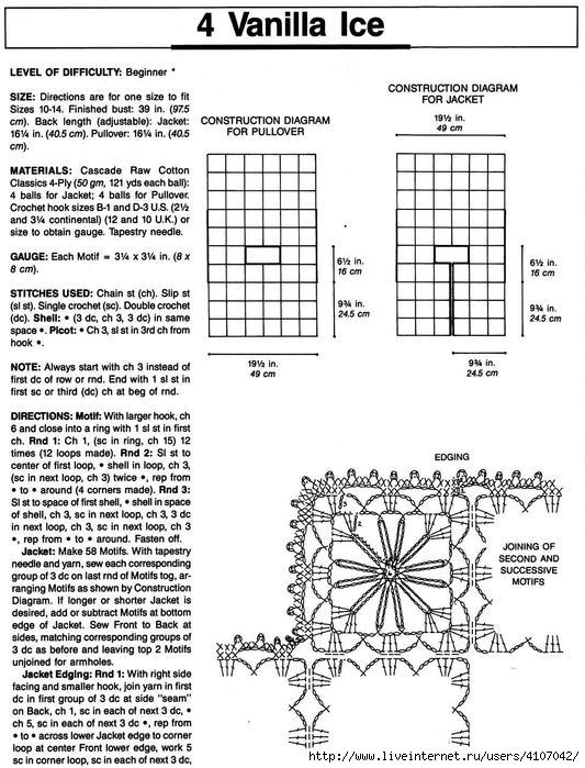 Майки, топы, летние кофточки лена демина Простые схемы 48