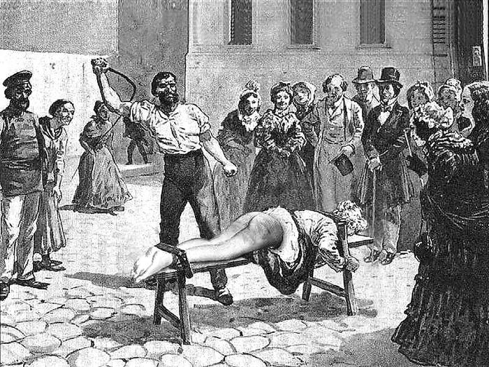 Наказание женщины розгой видео