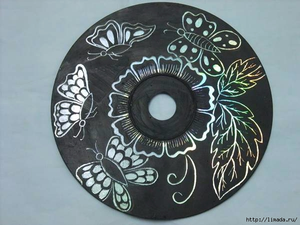 Creative-Ideas-DIY-Wall-Art-From-Old-CDs (600x450, 132Kb)