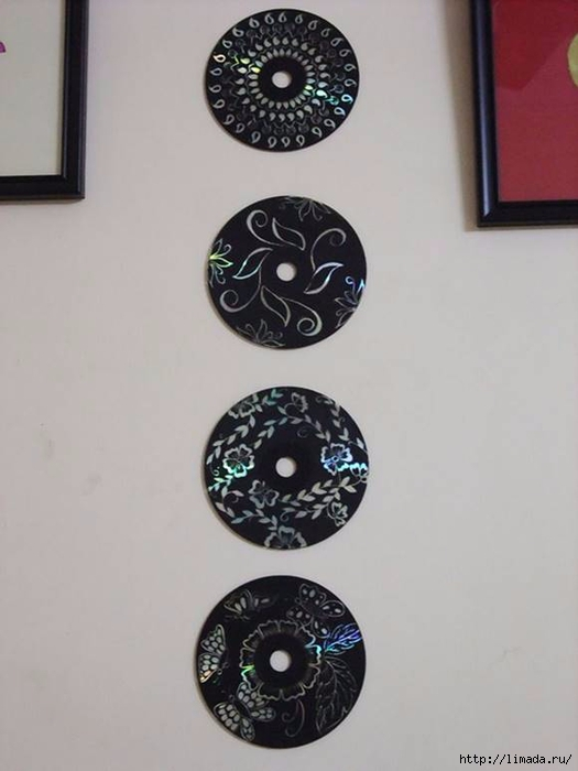 Creative-Ideas-DIY-Wall-Art-From-Old-CDs-4 (525x700, 139Kb)