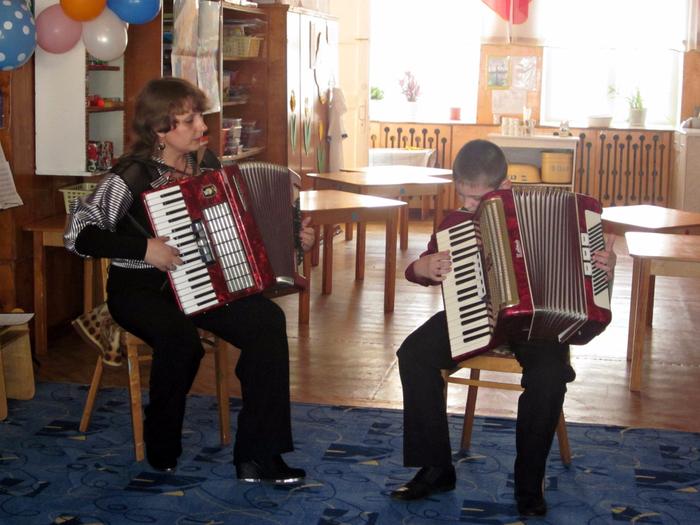 Сольный концерт для малышей