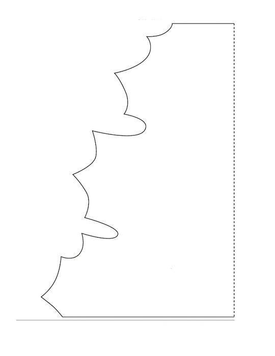 словами кленовый лист из цветной бумаги образец как делать образы