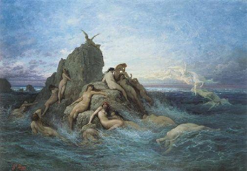 Друвнегреческие боги и нимфы