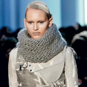 Фото шарфа хомута | Образцы, шаблоны различных орнаментов