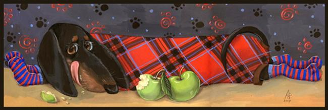 Милые иллюстрации Любы Ереминой (650x218, 73Kb)