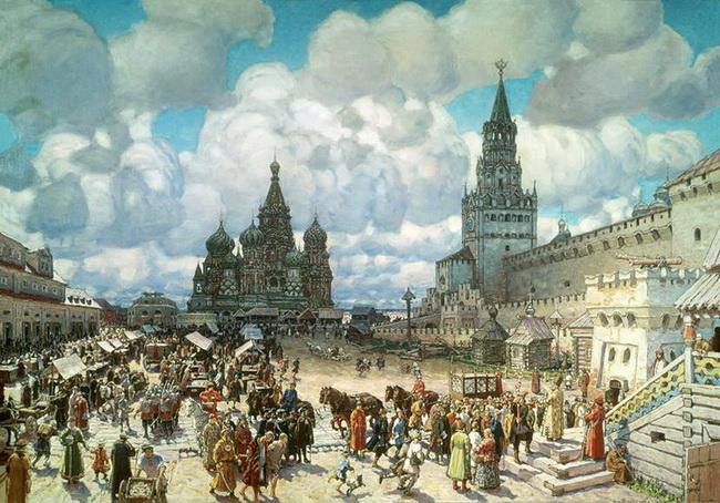 Верхние торговые ряды на Красной площади (ГУМ)