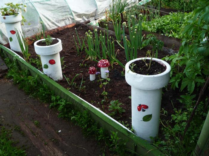 Украсить огород своими руками фото фото 454