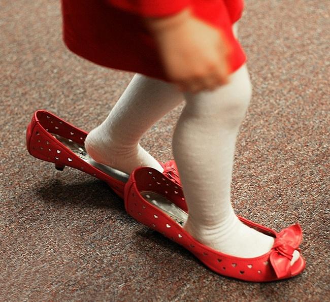 Секс в маминых туфлях
