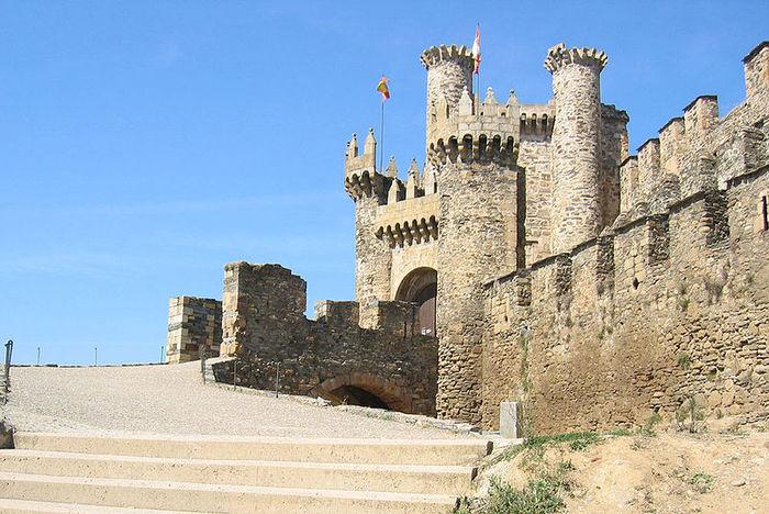 Понферрада (Castillo de Ponferrada) - Замок тамплиеров 63696