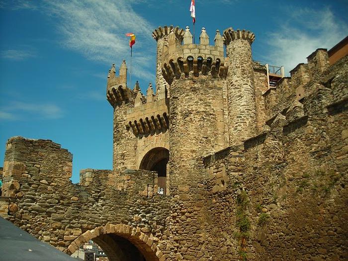 Понферрада (Castillo de Ponferrada) - Замок тамплиеров 55328