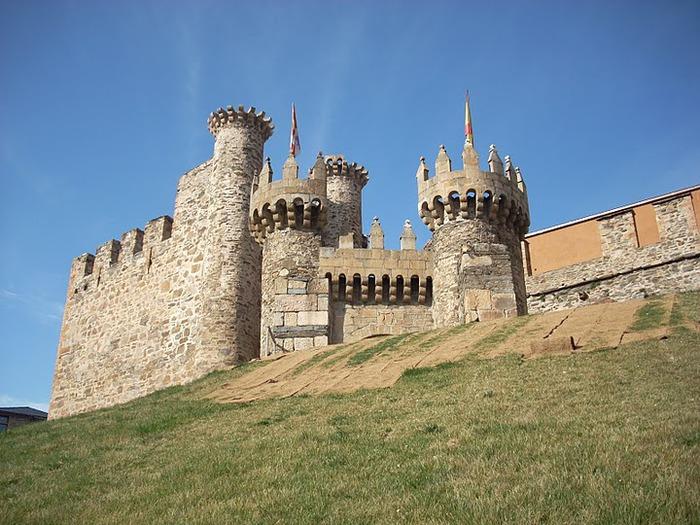 Понферрада (Castillo de Ponferrada) - Замок тамплиеров 38278
