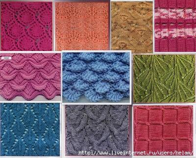 Вязание шарфа на спицах. Узоры. Обсуждение на 69