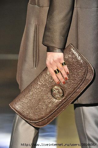 Сумки осень-зима 2010-2011 были представлены в коллекции от Gucci.