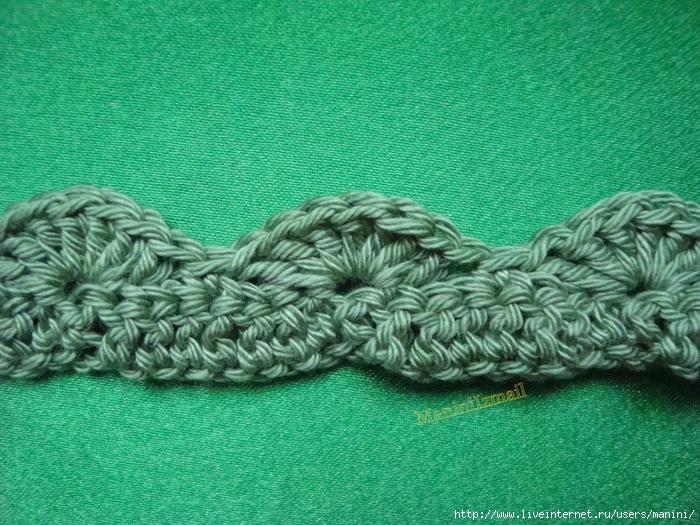 объемные узоры крючком - Вязание.  Автор:Admin.