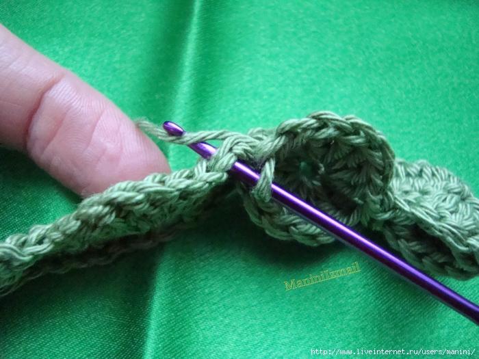 Комментарий: схемы вязания объемных салфеток крючком.