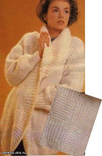 Marscity вязание спицы ажурные кофты