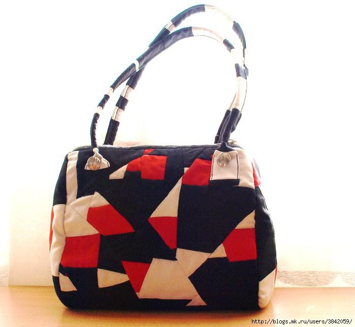 """Модная женская сумка  """"Валентина """".  Как сшить сумку своими руками."""
