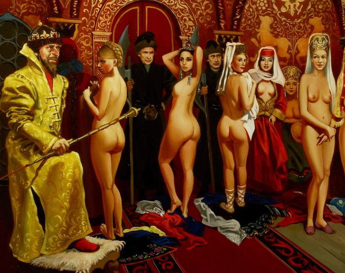 Порно историческое царя