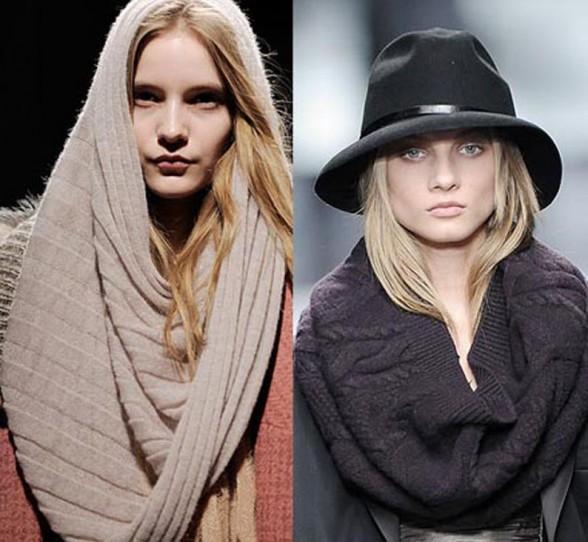 шарф снуд спицами - Сумки.