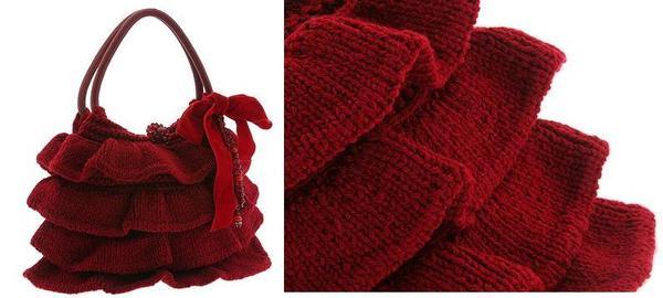 """В инете увидела сумочку , вот такую.  Сумка  """" Знойная Кармен."""