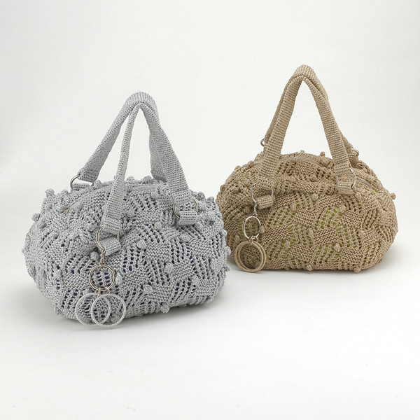 Вязаные спицами - Сумки, вязаные спицами.  Вязаная сумка Гвинет в стиле...