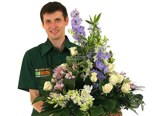 Подарить цветы через посылку луганск, невесты рог изобилия