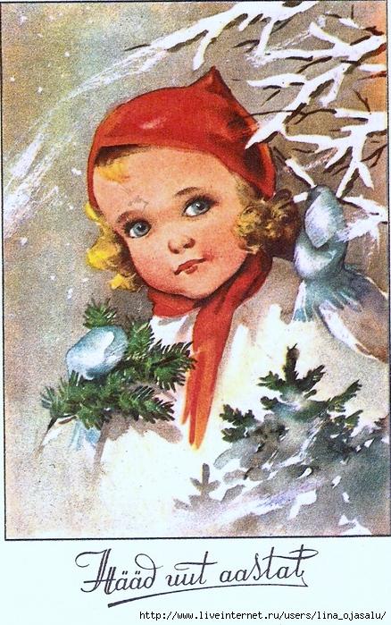 Открыток, эстонские открытки 30-х годов