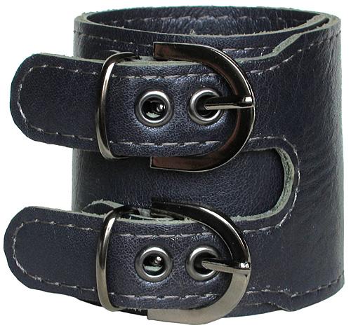 кожаные браслеты с 2-мя пряжками готовые и на заказ.