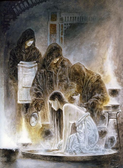 Новый альбом Dead moon от Luis Royo художник работы обложка новый альбом...