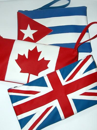 клатч с флагом + фото. клатч с флагом.