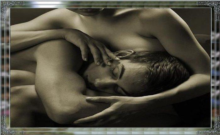 Картинки ты спишь а я тебя целую
