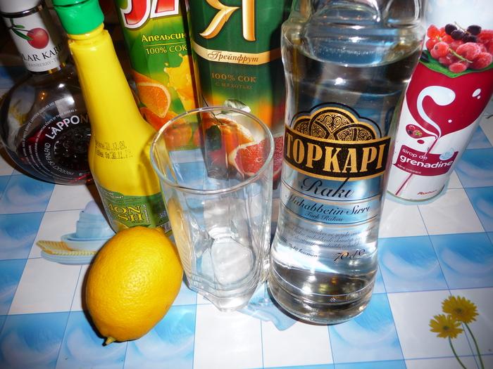Берем турецкую раки или греческую узо (крепкий анисовый напиток).