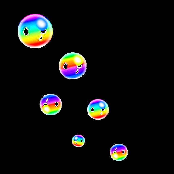 Сторона открытки, анимации картинки мыльные пузыри на прозрачном фоне