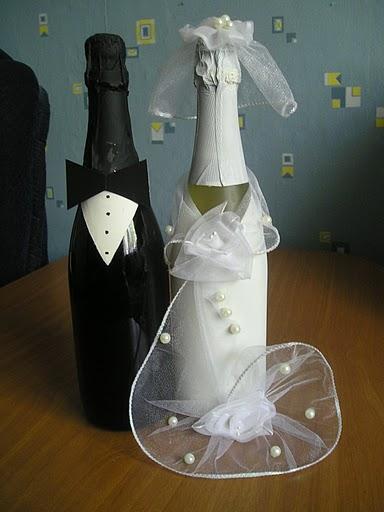 Оформление бутылок своими руками фото - Самые красивые и креативные украшения здесь