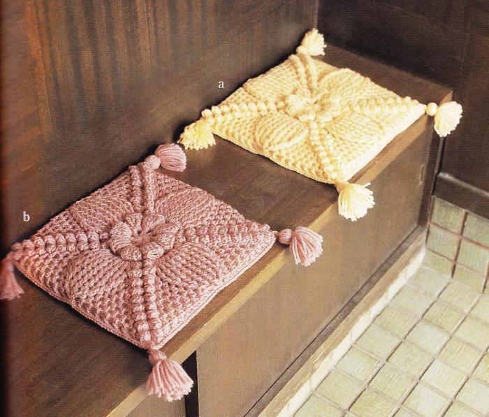 Пошив подушки для стульев своими руками