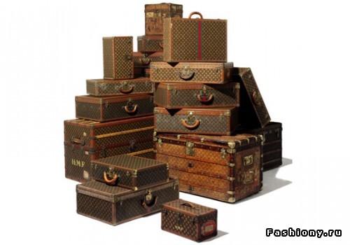 Оценочная стоимость старинных чемоданов Louis Vuitton...
