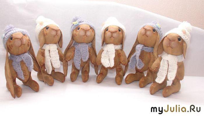 выкройки зайцев и кроликов.