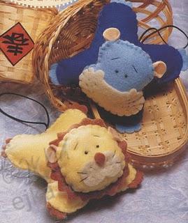 Мягкие игрушки Лев и Бегемот - просто и красиво, начните учить ребенка...