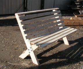 Садовые скамейки своими руками из металла чертежи