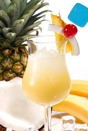 ...колличествах Самое трудное было найти кокосовый сироп.  Пина Колада.