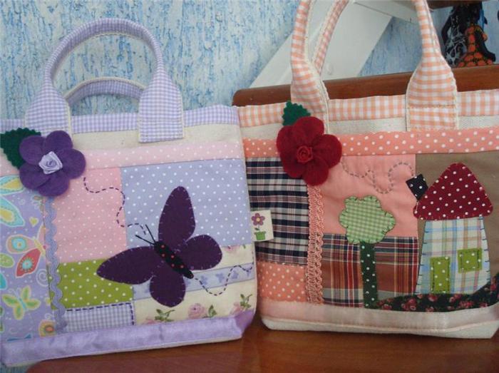 Сумки в стиле пэчворк. шьем и вяжем сумки,косметички,чехлы.  Море идей- загляни!  Красивая сумка крючком.
