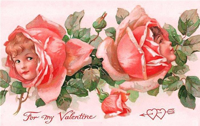 Открытки к валентина женщин, маргарита тебе цветы