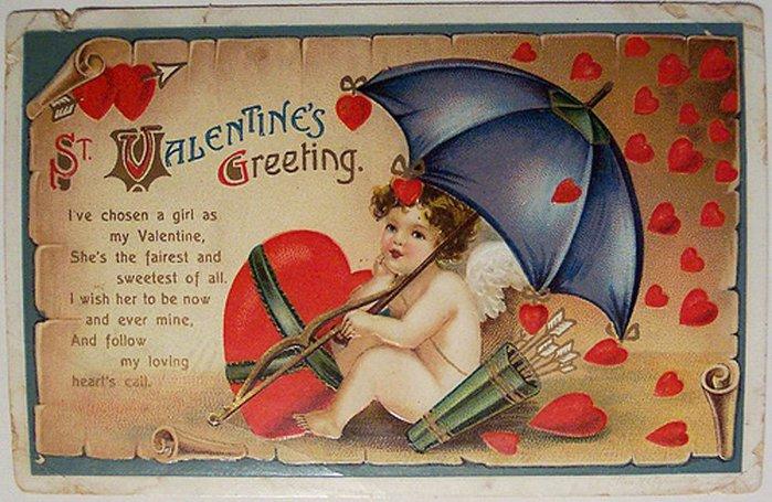С днем святого валентина открытка на немецком