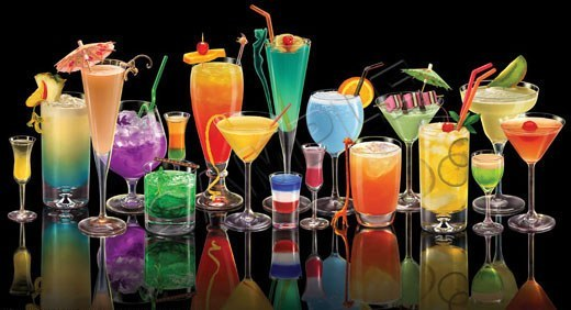 Безалкогольные коктейли: 140 рецептов.  Машенька.