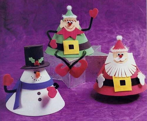 новогодние игрушки из бумаги схемы.